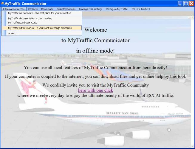 My traffic Editor, HELP - MyTraffic Support Forum - The