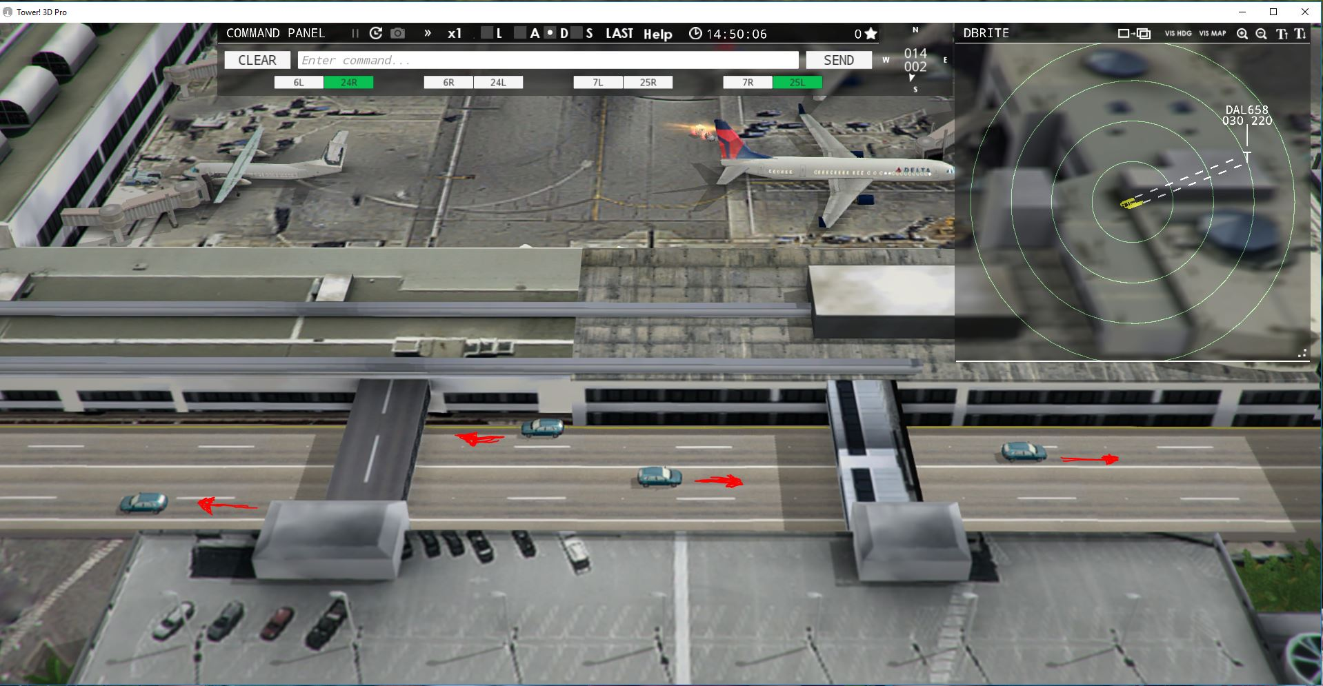 Tower!3D Pro: LAX and Automobile Traffic - ATC Simulators
