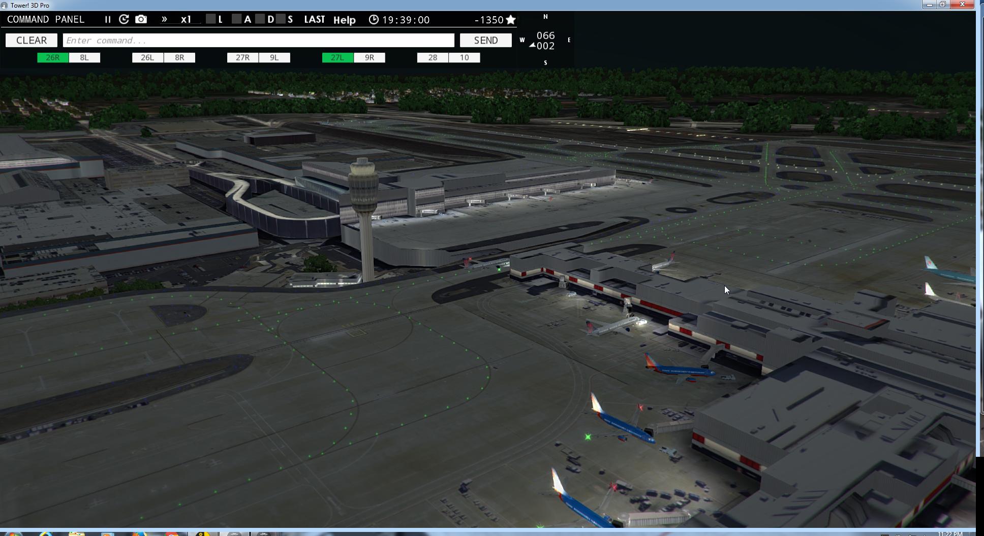 Tower!3D and Pro KATL Tower View - ATC Simulators - The