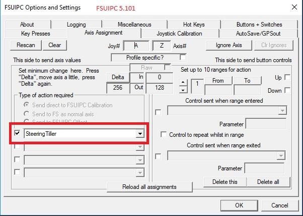 FSUIPC 5 - Issues with Saitek X55 - FSUIPC Support Pete Dowson