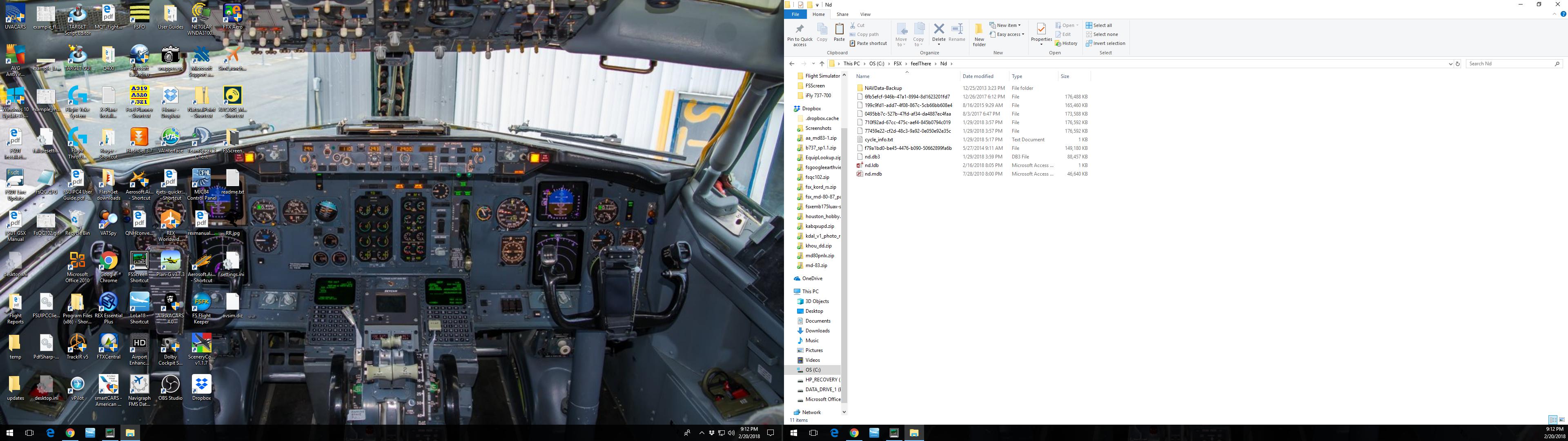 ERJ175 Nav Database Load Issue - Airplanes - The simFlight Network
