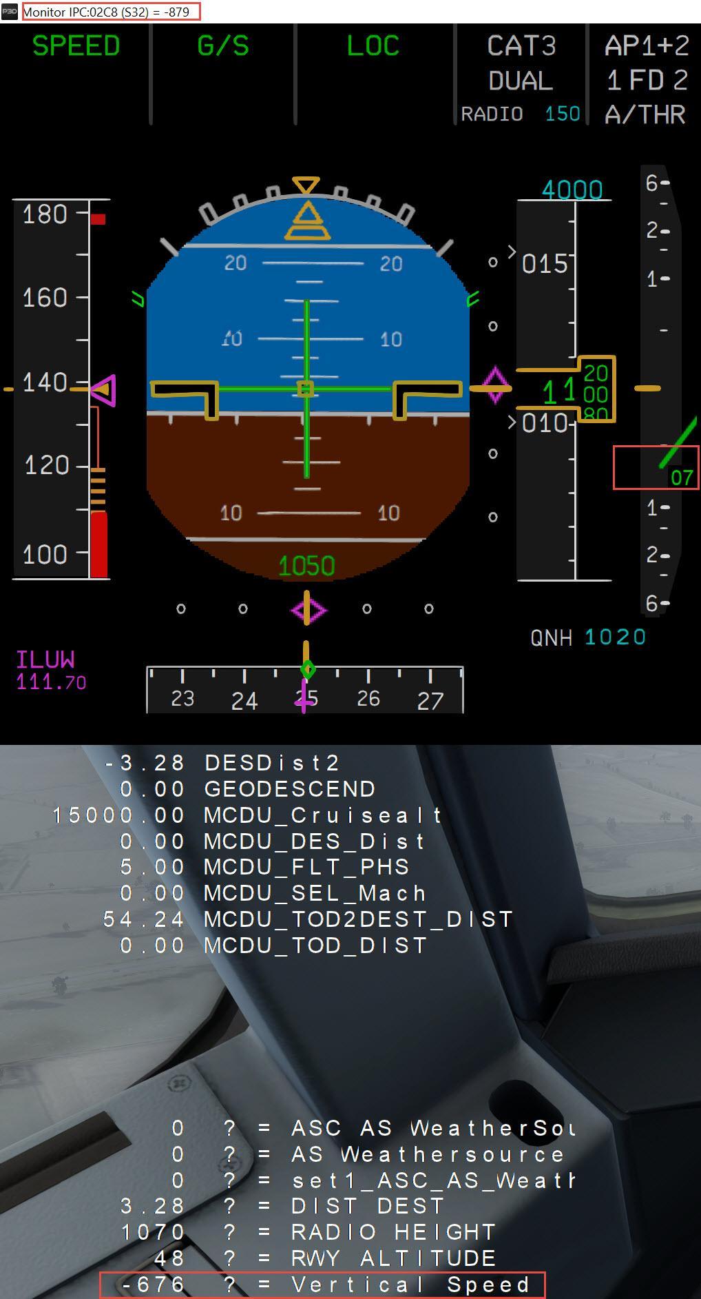 Landing rates - FSUIPC Support Pete Dowson Modules - The