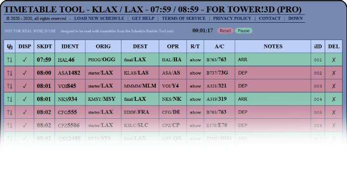 Timetable Tool